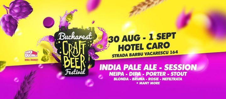 Bucharest Craft Beer Festival 2019