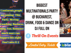 Biggest Multinationals Party @ Bucharest, Thrill On Events