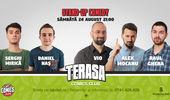 Stand-up cu Vio, Alex Mocanu & Raul Gheba pe Terasa Comics Club