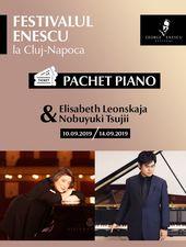 Pachet Piano - Festivalul Enescu la Cluj-Napoca
