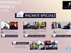 Pachete Speciale - Festivalul Enescu la Sibiu