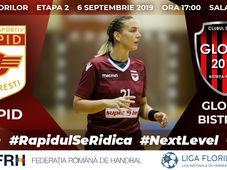 Liga Florilor: Rapid București vs Gloria 2018 Bistrița-Năsăud