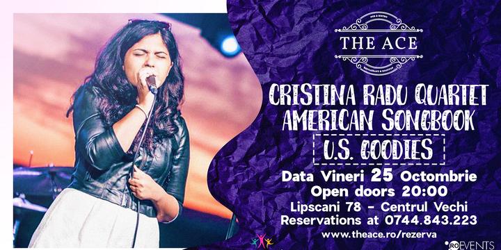 Cristina Radu Quartet | American Songbook @ The Ace