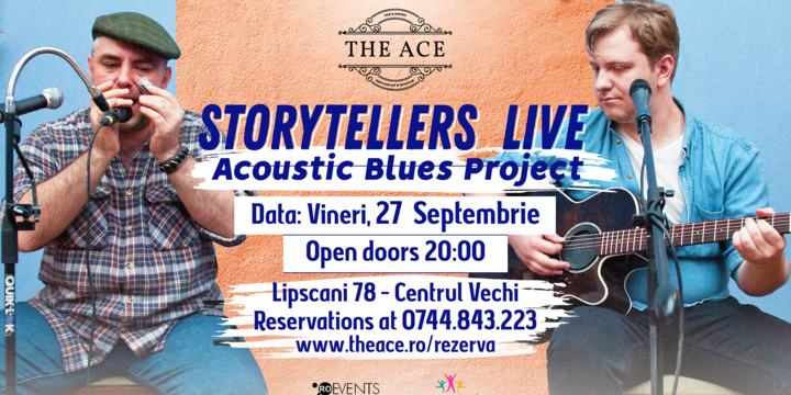 Storytellers w/ Marcian & Tacoi | acoustic blues project @ The Ace