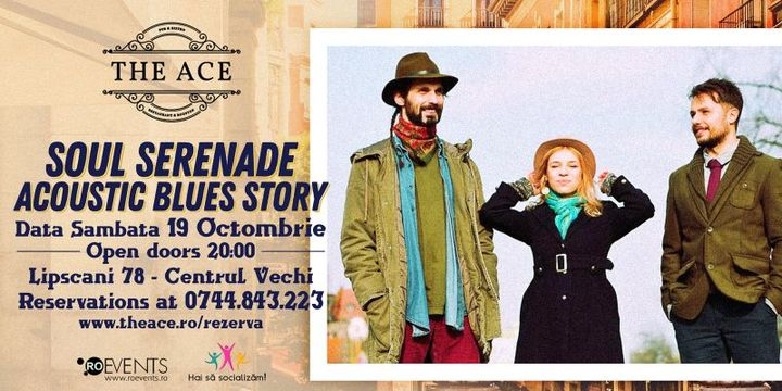 Soul Serenade | acoustic blues story @ The Ace