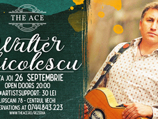 Walter Ghicolescu | Live Concert @ The Ace