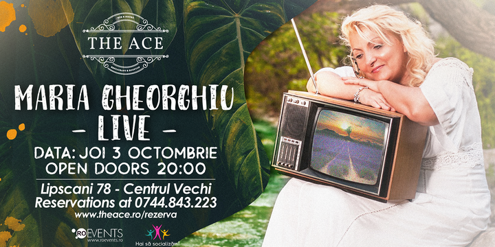Maria Gheorghe live concert @ The Ace