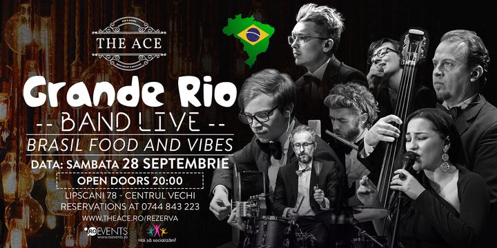 Grande Rio Band | Brasil Food and Vibes @The Ace