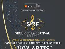 "Concert de Gala al Laureatilor concursului ""Vox Artis"""