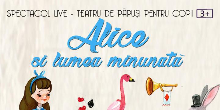 Alice și lumea minunată la Artist Café