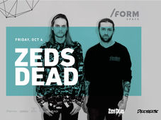 Zeds Dead at /FORM SPACE
