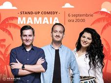Mamaia: Stand-up comedy cu George Tănase, Ioana State și Mane Voicu