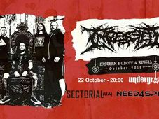Ingested (UK) live in Underground!