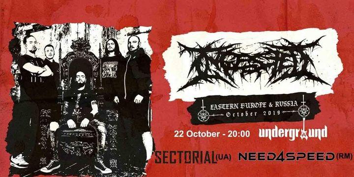 Ingested (UK) live in Underground!