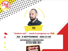"""Vedem noi"" - Work in progress cu Teo și invitați"