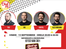 Stand up comedy cu Teo, Vio, Costel si Alex Mocanu