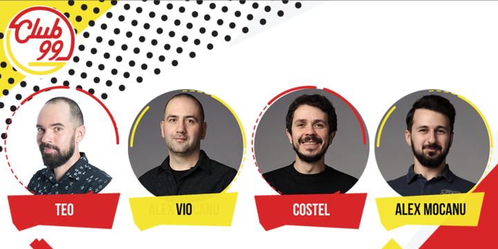 Stand up comedy cu Teo, Vio, Costel si Alex Mocanu