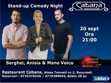 Stand Up Comedy cu Anisia Gafton, Serghei & Mane Voicu