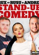 Turneu: Stand-up Comedy RUX cu Rusu si Andrei