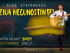 Alex Stefanescu - Ziua Necunostintei - Live la Piatra Neamt
