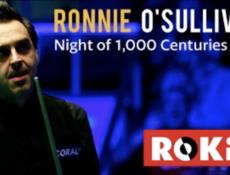 Ronnie O'Sullivan la Bucuresti