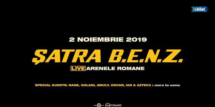 Satra B.E.N.Z. Live la Arenele Romane