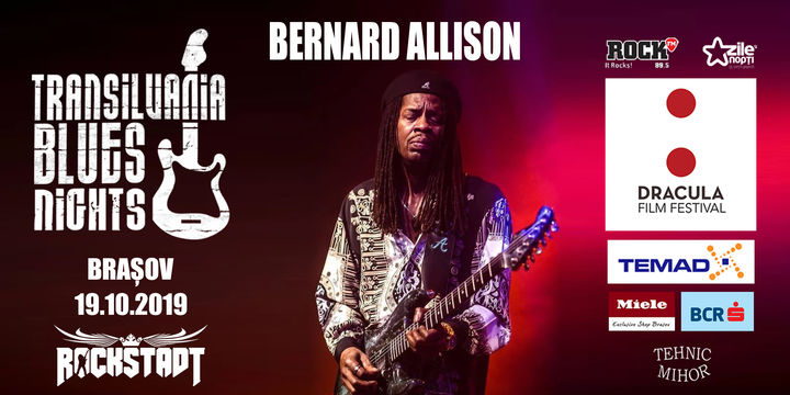 Bernard Allison - Let It Go Tour @ Transilvania Blues Nights