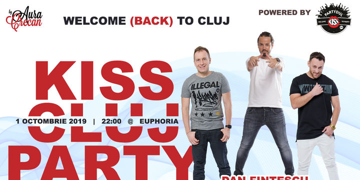 KISS CLUJ PARTY - by Partydul KISS FM