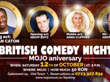 British comedy night | Mojo Aniversary
