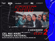 Cluj-Napoca: Concert 5GANG - Club NOA Show 2