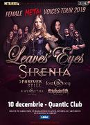 Bucuresti: Leaves' Eyes si Sirenia - The Female Metal Voices Tour 2019