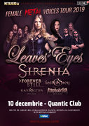 Bucuresti: Leaves' Eyes si Sirenia - The Female Metal Voices Tour 2019