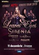 Cluj-Napoca: Leaves' Eyes si Sirenia - The Female Metal Voices Tour 2019