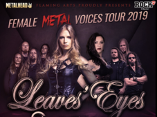 Cluj-Napoca: Leaves' Eyes si Sirenia - The Female Metal Voices Tour 2019