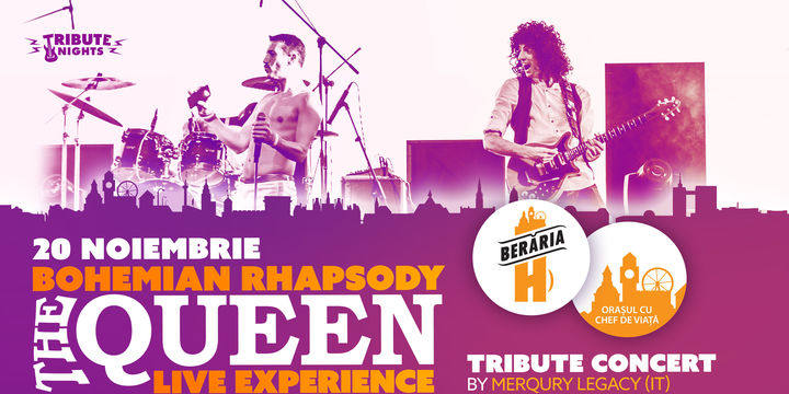 Bohemian Rhapsody  QUEEN Tribute Show by Merqury Legacy
