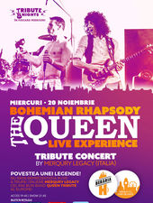 Bohemian Rhapsody  QUEEN Tribute Show by Merqury Legacy