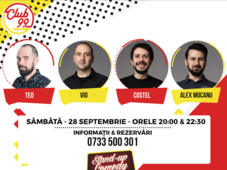 Stand up comedy cu  TEO, VIO COSTEL si ALEX MOCANU