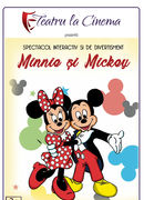Minnie si Mickey la Artist Café