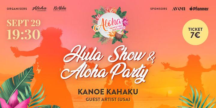 Petrecere Aloha cu Spectacol de Dansuri Hula - Aloha Dance Fest București