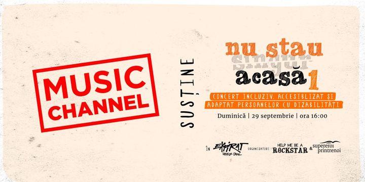 Nu Stau Acasă #1 (disability friendly event) / Expirat / 29.09