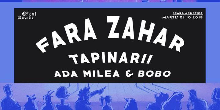 Ada Milea & Bobo Burlacianu, Tapinarii, Fara Zahar