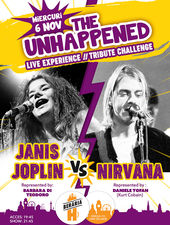 Janis Joplin vs. Nirvana | The Unhappened Live Experience