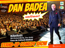 Stand Up Comedy: Dan Badea - amUmor @ Radauti