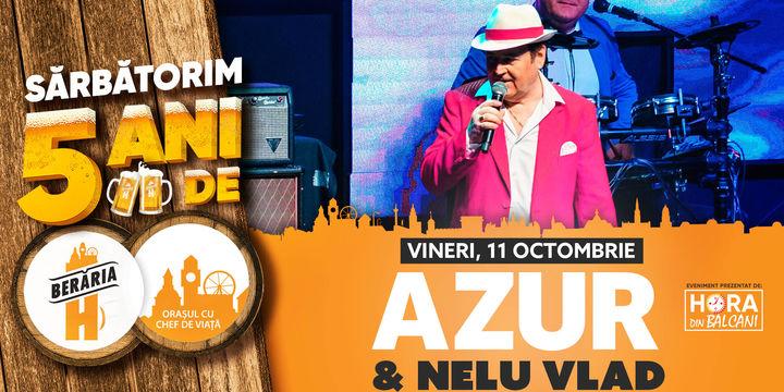 Concert AZUR & Nelu Vlad // Berăria H