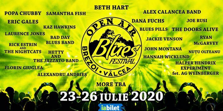 Open Air Blues Festival Brezoi - Vâlcea