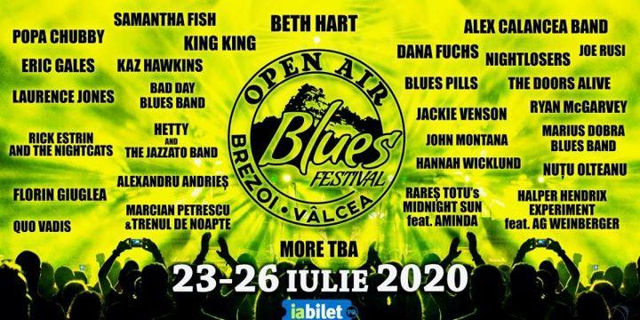 Open Air Blues Festival Brezoi 2020