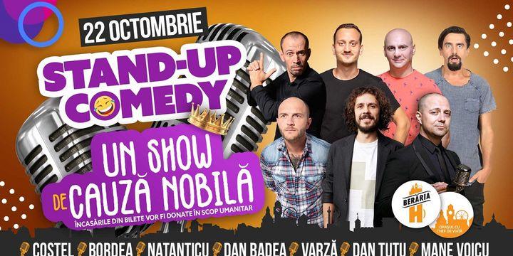 Stand-Up Comedy: Costel, Bordea, Natanticu, Dan Badea & more