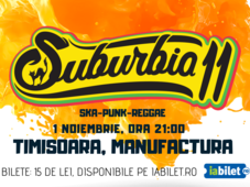 Concert Suburbia11 | Timișoara