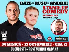 Stand-up comedy night cu Rusu si Andrei