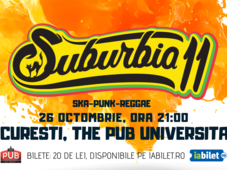 Concert Suburbia11 | București, The Pub Universității